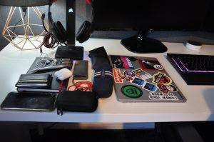 What's in my tech backpack?