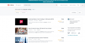 Udemy has over 100,000 courses!