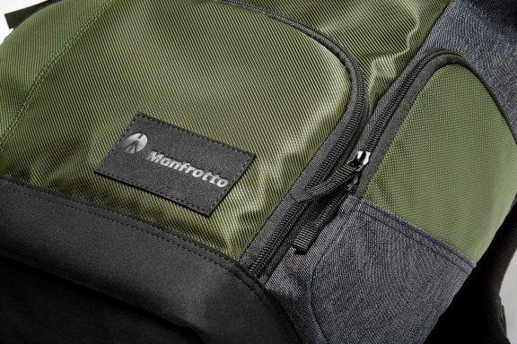 What's in my tech backpack? Manfrotto Closeup.