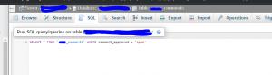 Delete all WordPress Comments via MSSQL