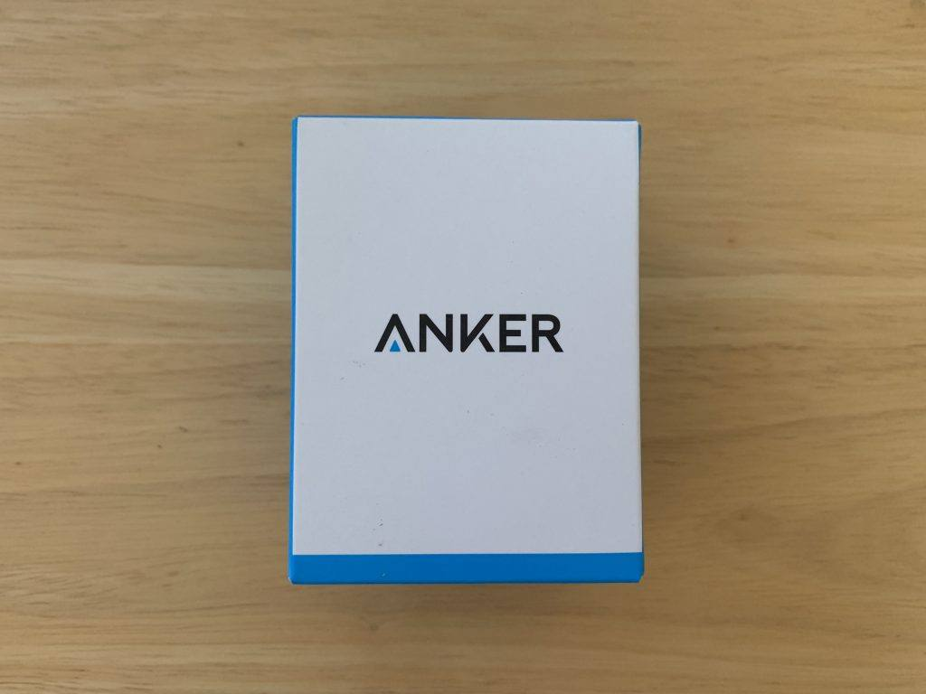 A photo of the Anker Brand packaging.