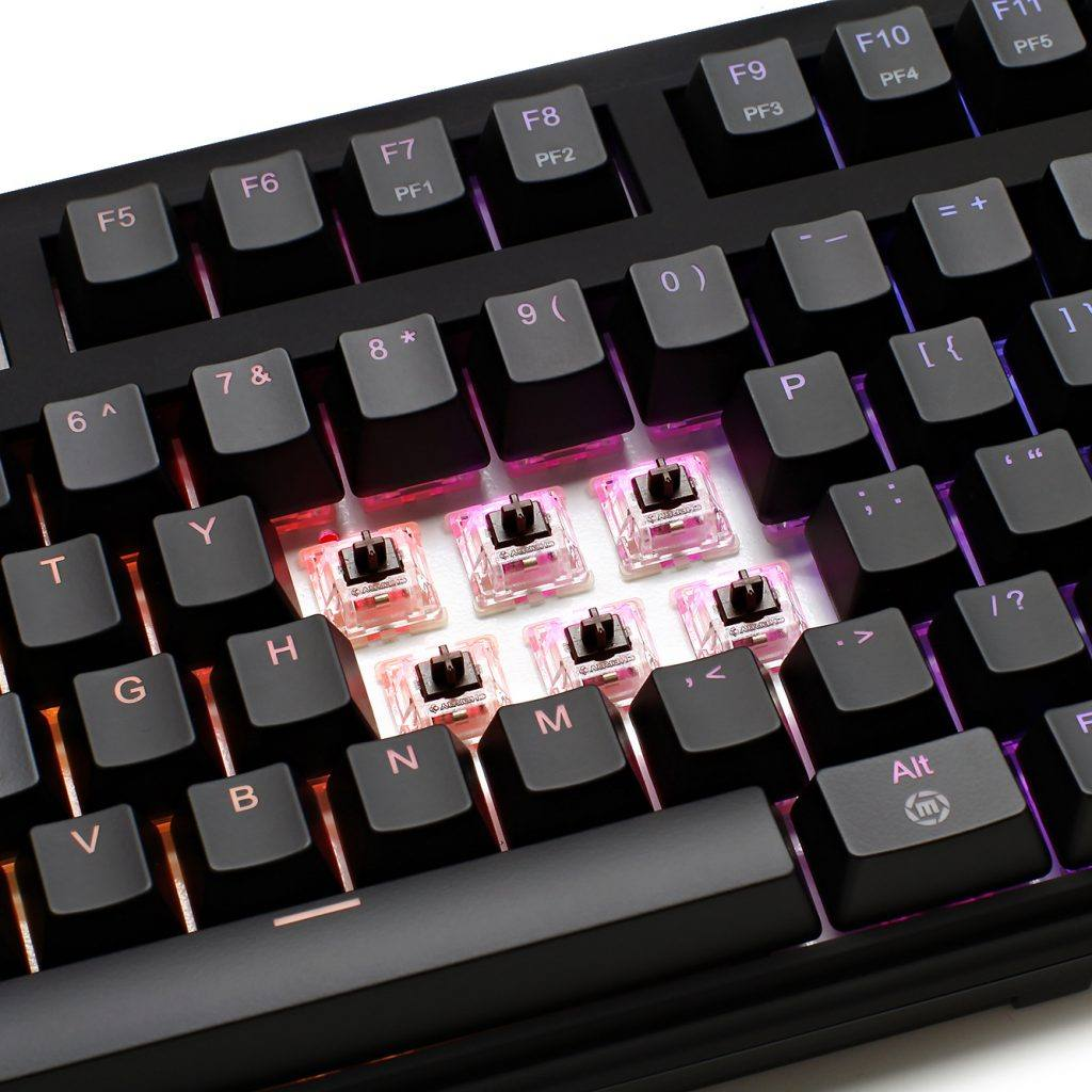 An example of Mechanical Keyboard Switches.