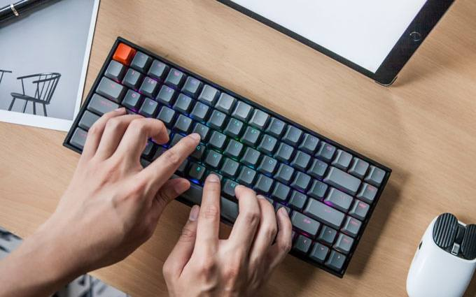 The Keychron K2 is probably the best keyboard Mac users.