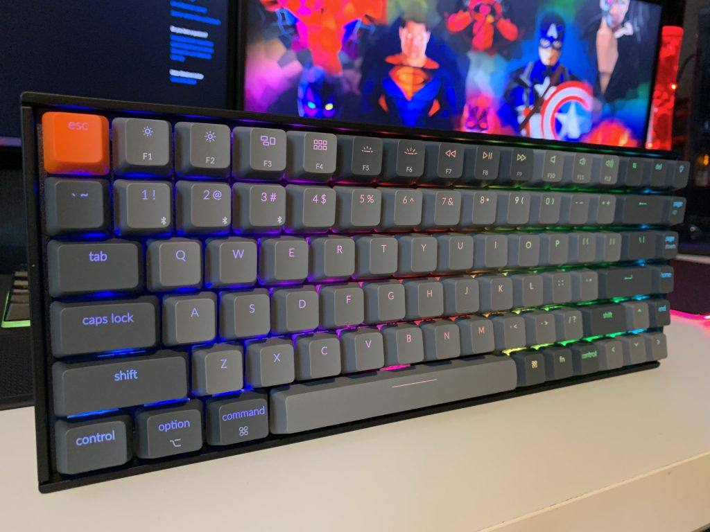 The Keychron K2 keyboard is fantastic for gamers, typists or general use.