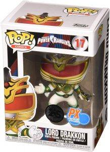 An Image of a Power Ranger Funko Pop. Funko Pops are the best Christmas Gifts for geeks! A great price too.