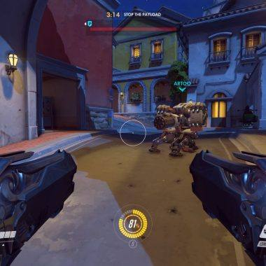 Screenshot of the best overwatch players in the world engaged in combat!
