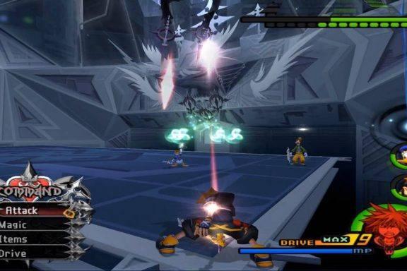 Main Image showing Kingdom Hearts 2 Characters.
