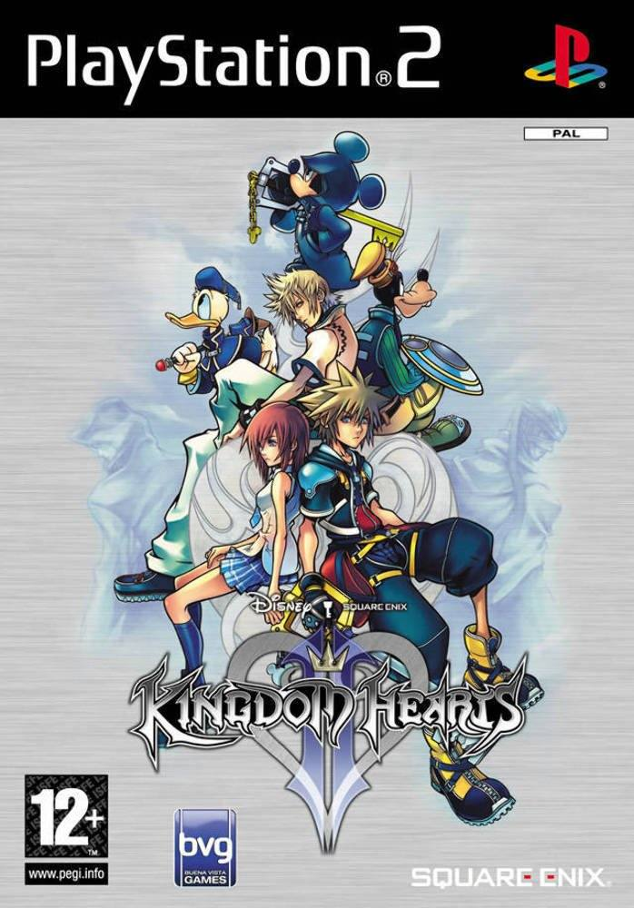 The PS2 Game cover of Kingdom Hearts II