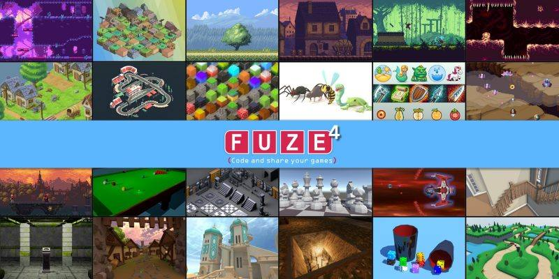 Fuze4 Nintendo Switch is a coding game. Design your own games and learn to code.