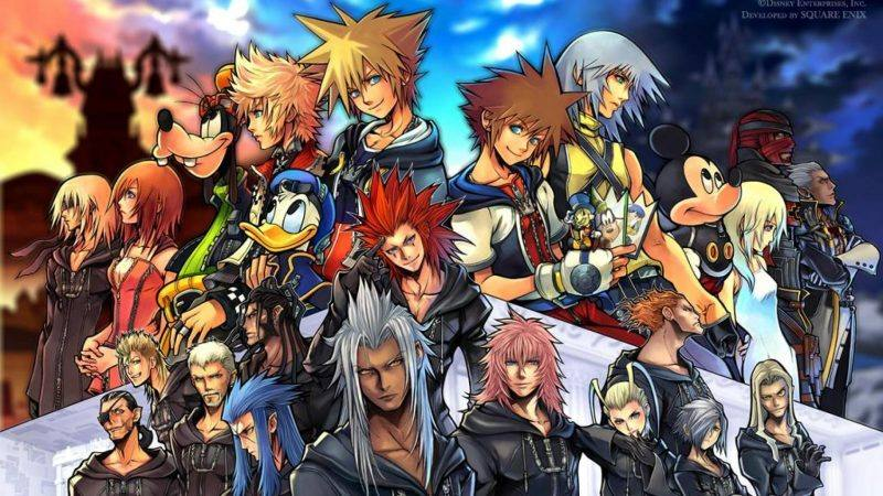 Kingdom Hearts All-in-one coming to Playstation 4