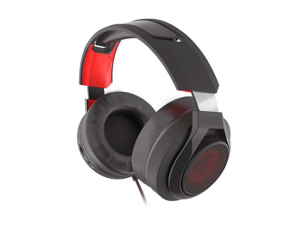 A close up of the Radon 610 Gaming Headset