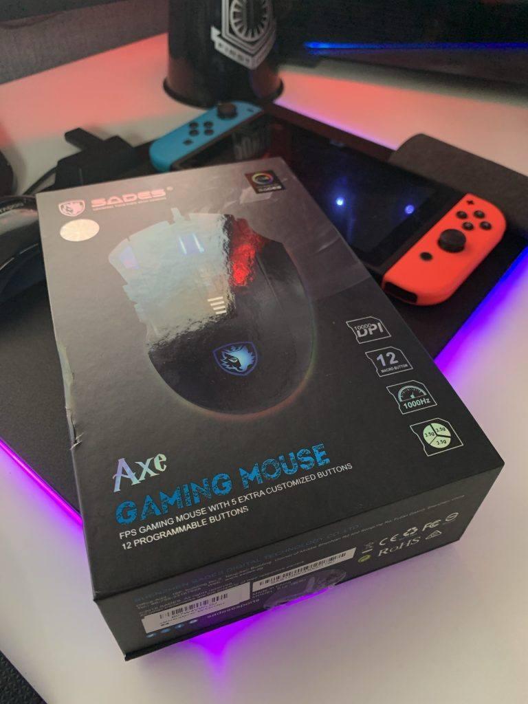 Sades Axe Gaming Mouse Review