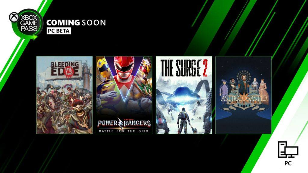 Coming soon to Xbox Games Pass April 2020