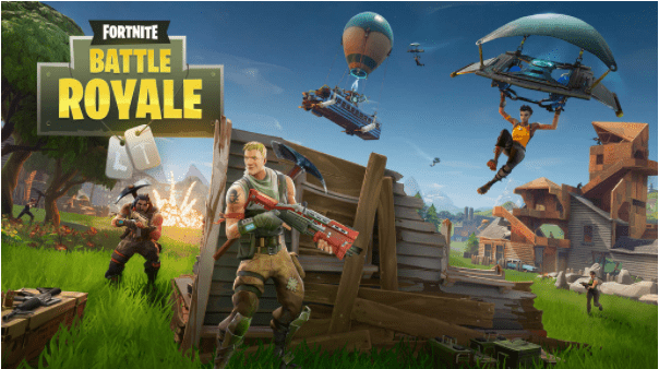 Fortnite is a really popular battle royale game. It should really be played by kids over 13 years of age.
