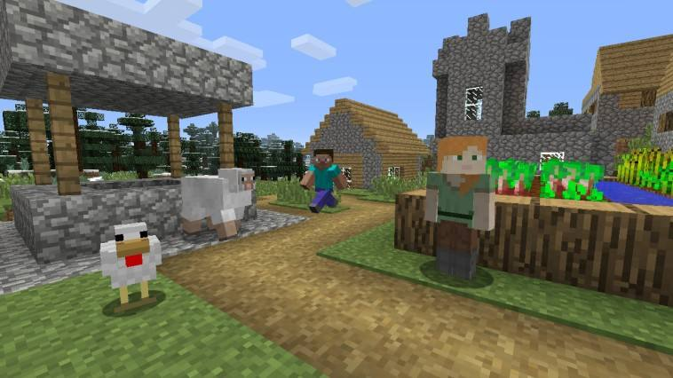 Minecraft is a brilliant introduction to open world games for Kids.