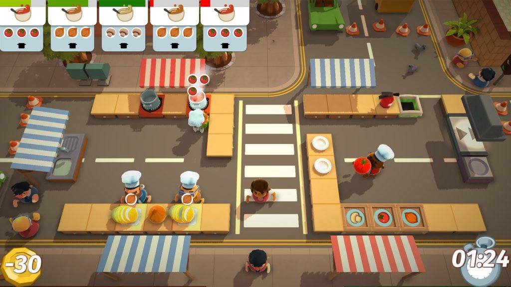 A cooking game for Kids.
