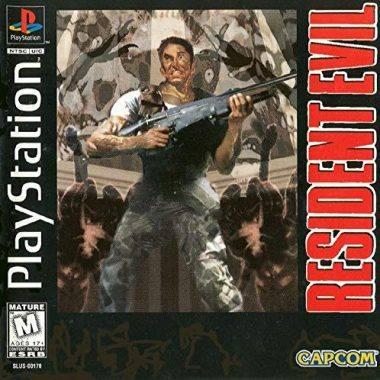 Resident Evil PS1 Game