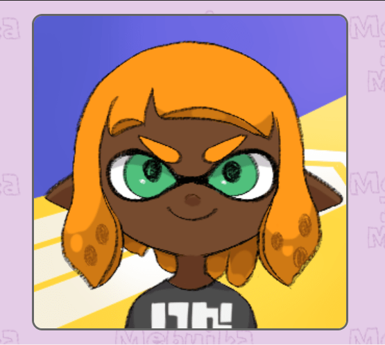 An example of what your can make with the Splatoon Character Maker