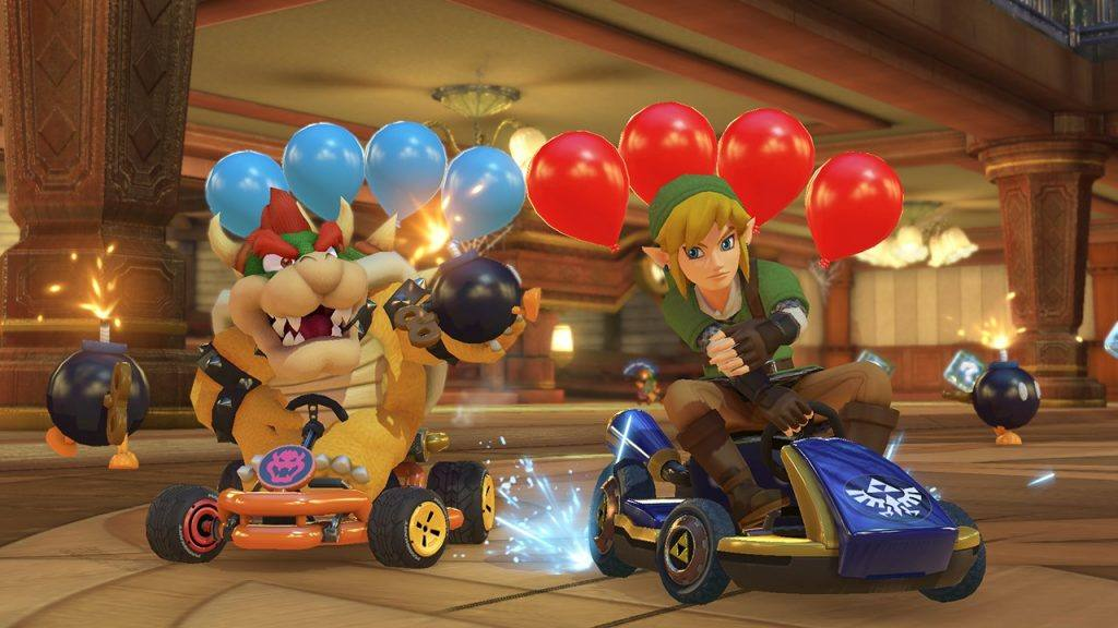 Mario Kart is a classic. It's not just for kids. It's a game the whole family can enjoy together.