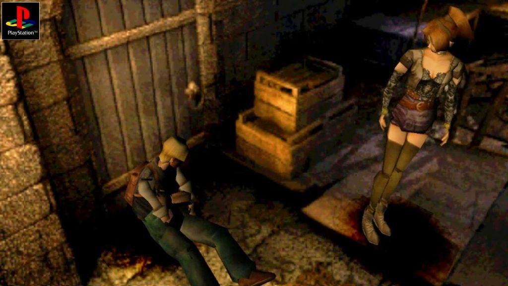 Horror Games like this one became really popular on the PS1.