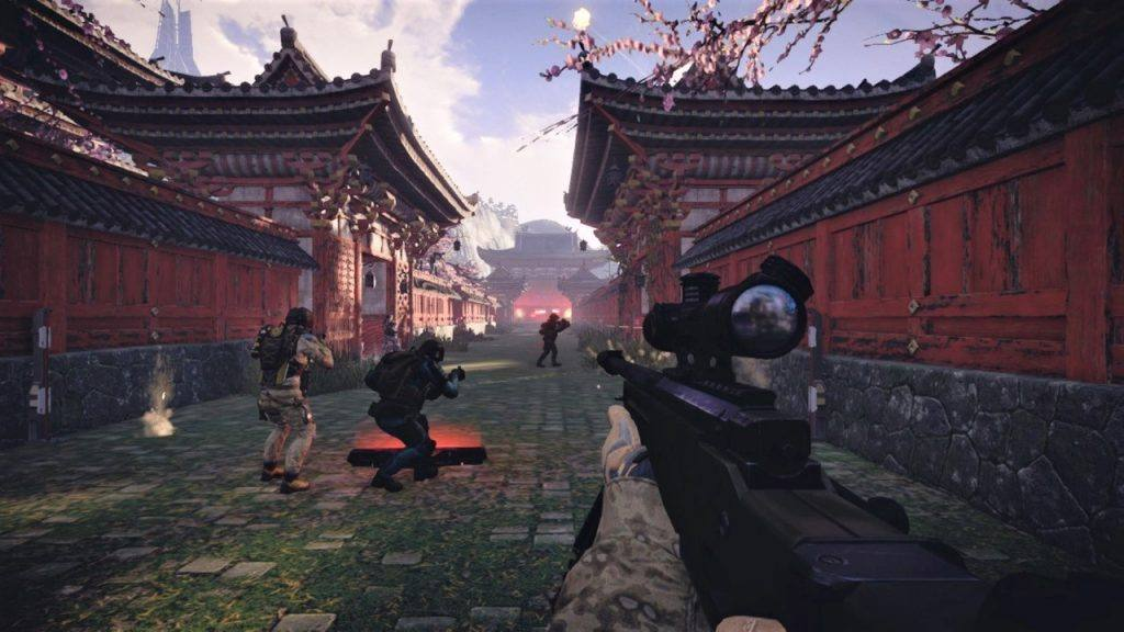 Warface is a free Nintendo Switch game for kids (teens)