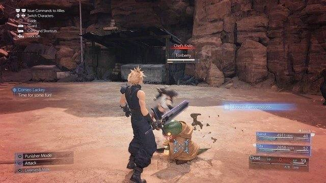 How to Beat Tonberry? Final Fantasy VII Remake.