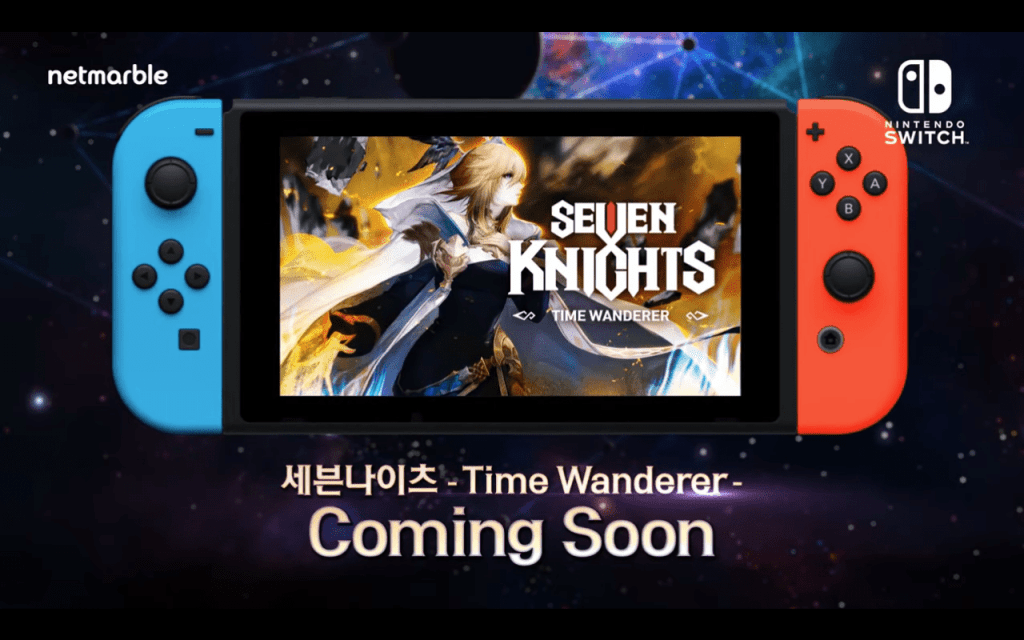 Seven Knights is coming soon to the Nintendo Switch.