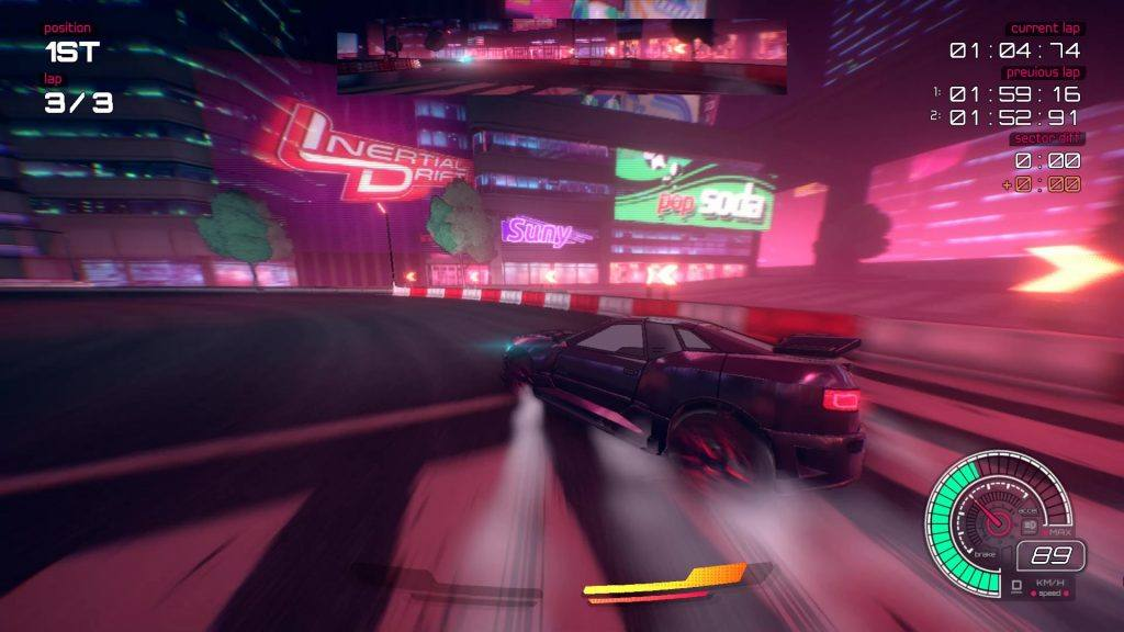 Inertial Drift Nintendo Switch Release Date: The colours look amazing, bright and vibrant.