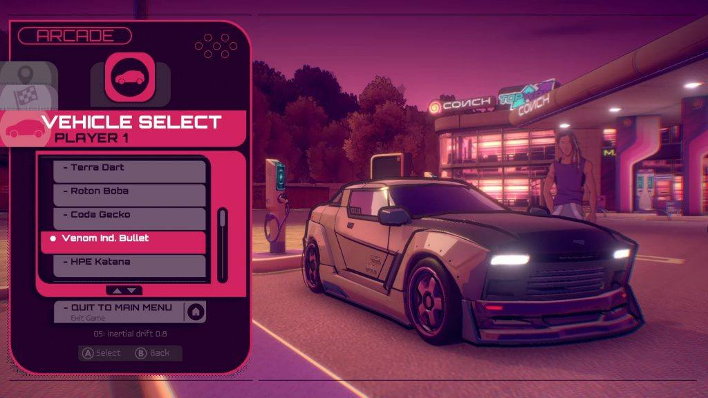 Inertial Drift Nintendo Switch Release Date: 16 Electric cars to choose from.