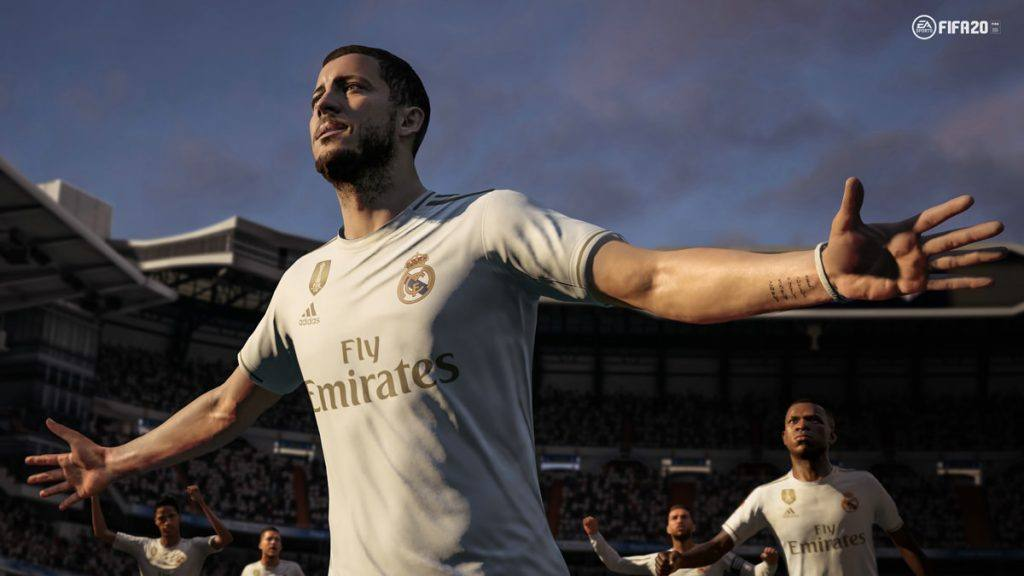 The graphics are great on the Nintendo Switch edition of FIFA 20.