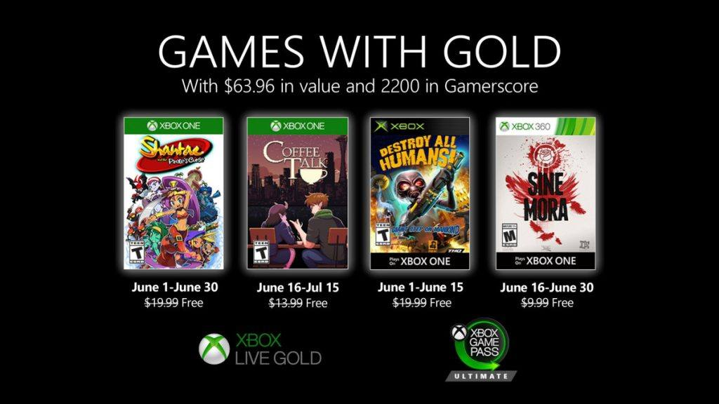 Xbox Games with Gold June 2020: A much better selection this month!