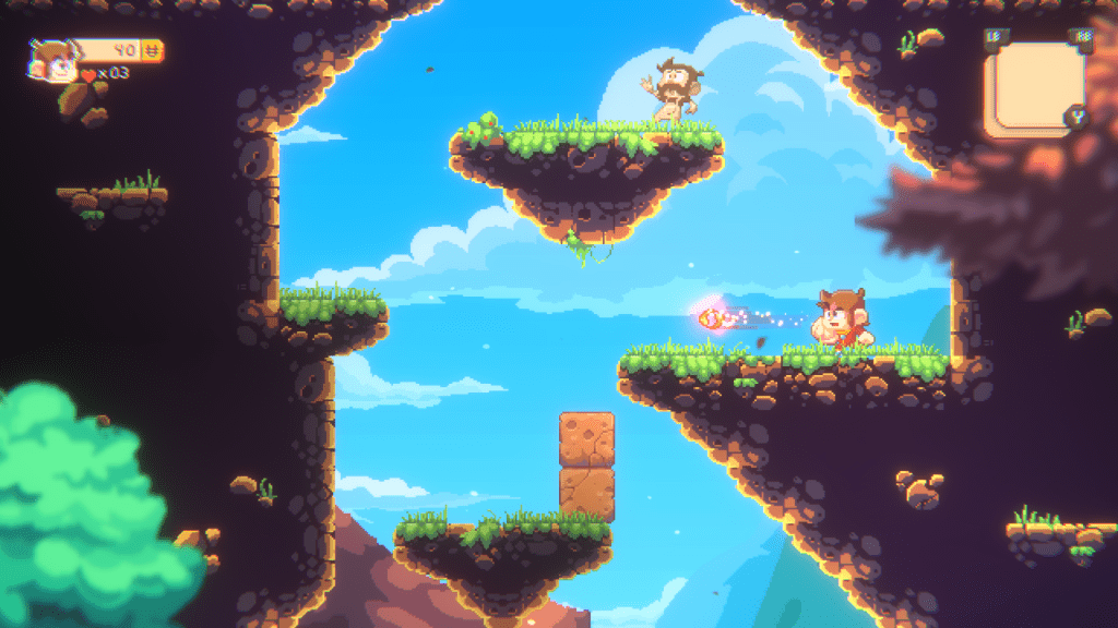The graphics look great on the modern version of Alex Kidd.