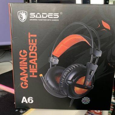 SADES A6 Gaming Headset Review
