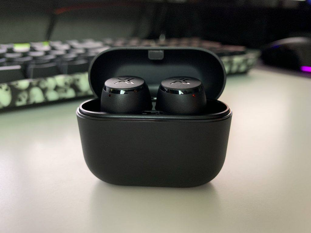 The Earbuds look great inside the X3 Charging case