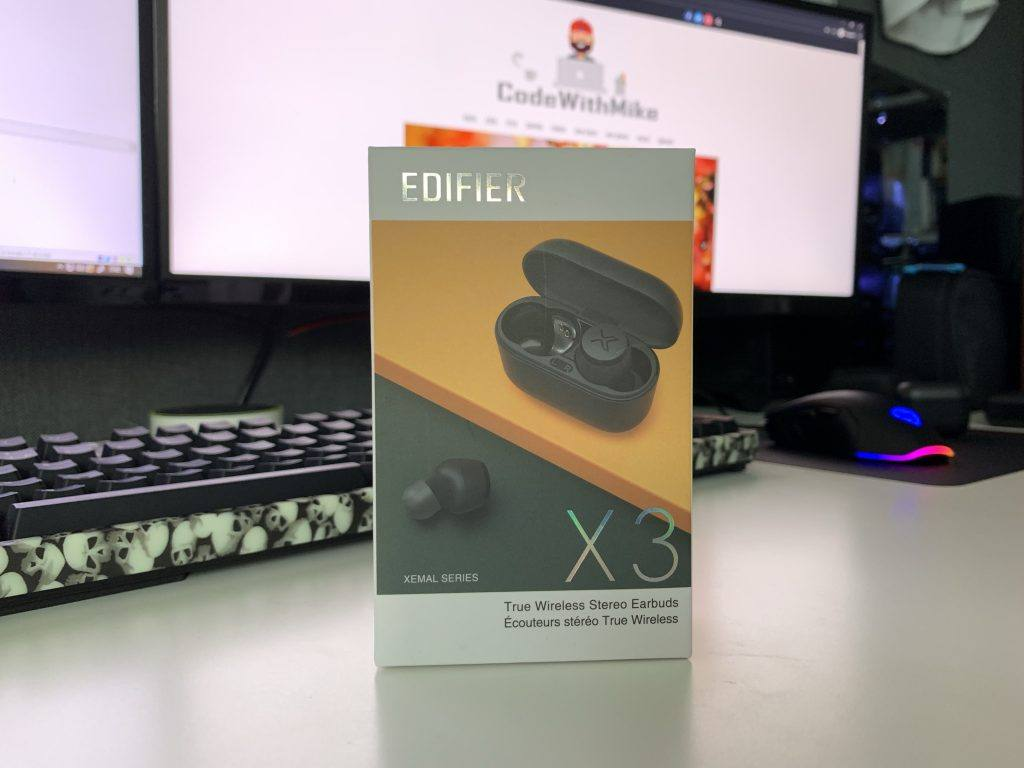 Edifier X3 Review: The packaging is really good!