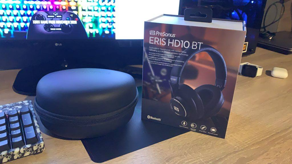 PreSonus HD10BT Review: First impressions count.