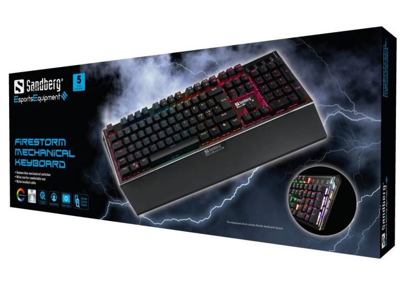 Sandberg FireStorm Mechanical Keyboard review