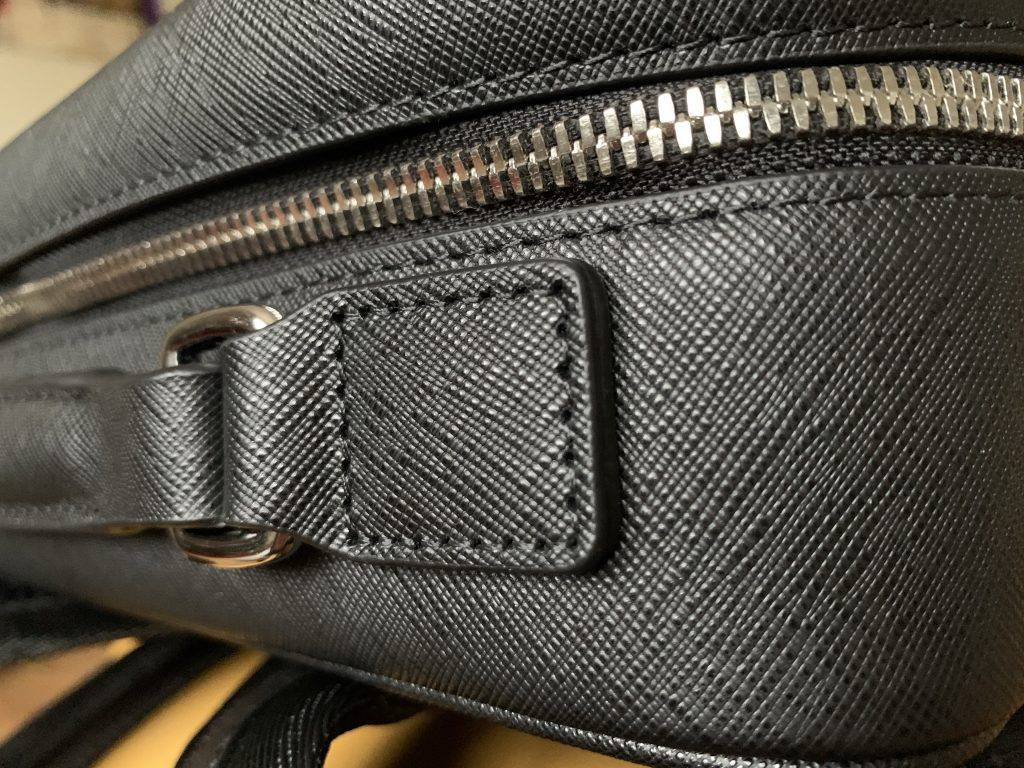 The stitching is simply perfect. An extremely well made bag is worth the premium price tag.