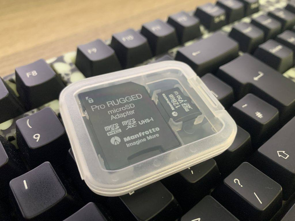 Manfrotto Pro Rugged MicroSD Card Review