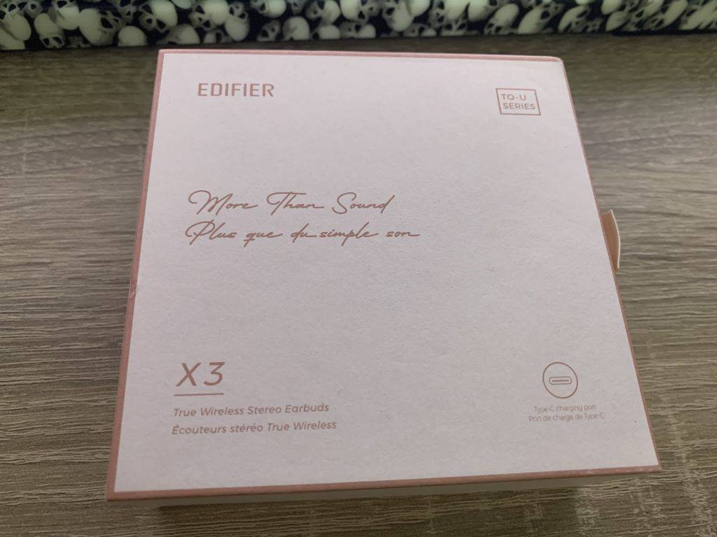 Edifier X3 TO-U Review - Despite not liking the colour, I think the packaging is well designed.