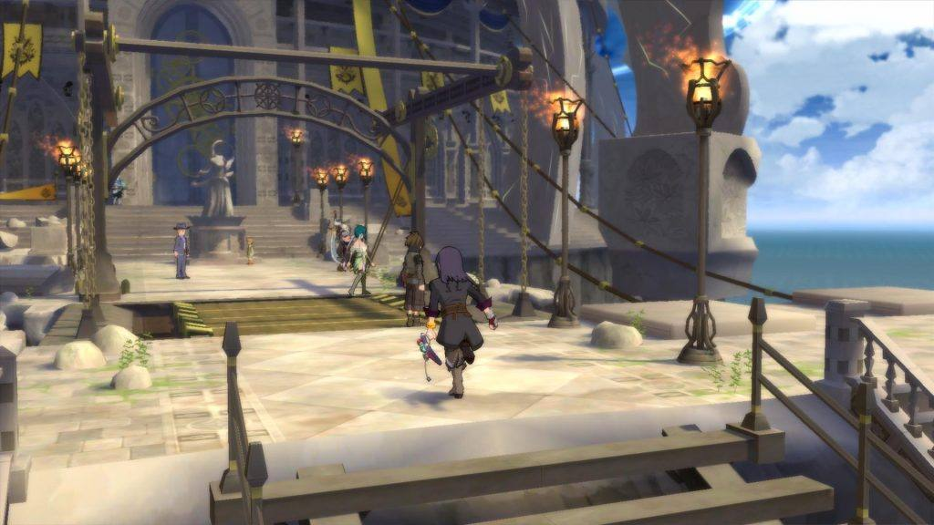 Tales Of Vesperia Review: Movement is fluid and easy with mouse and keyboard.