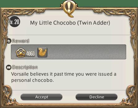 Chocobo Quest