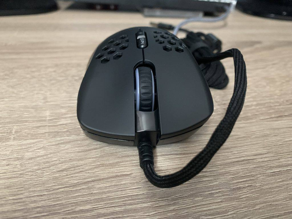 The mouse is well made.