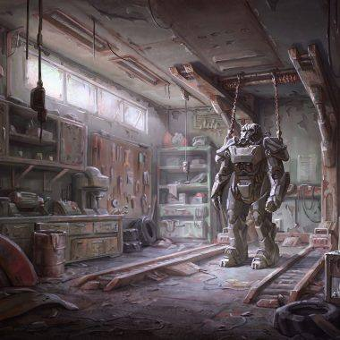 how to repair power armor in fallout 4