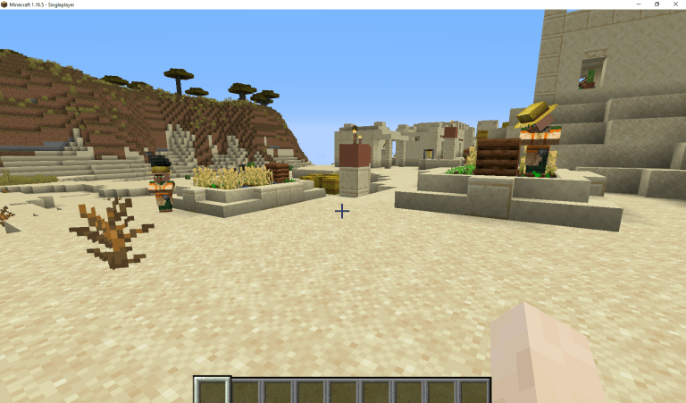 Find or Build A Village.