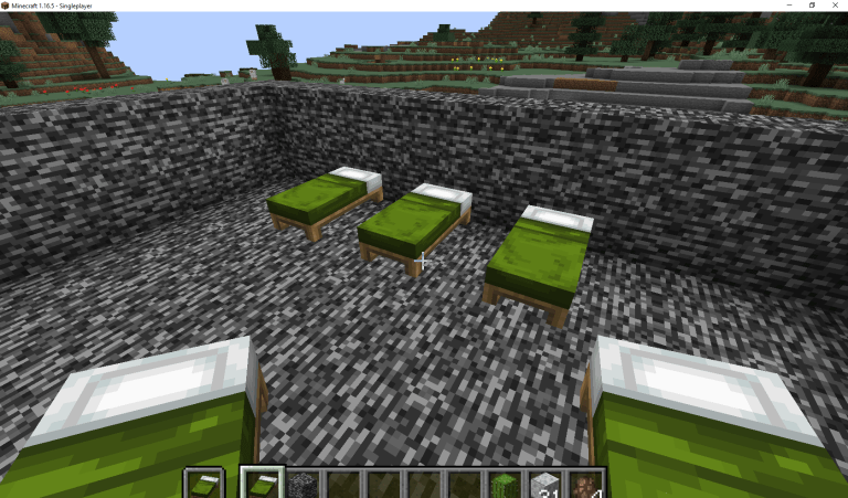 Make sure there are enough beds for your villagers to breed.