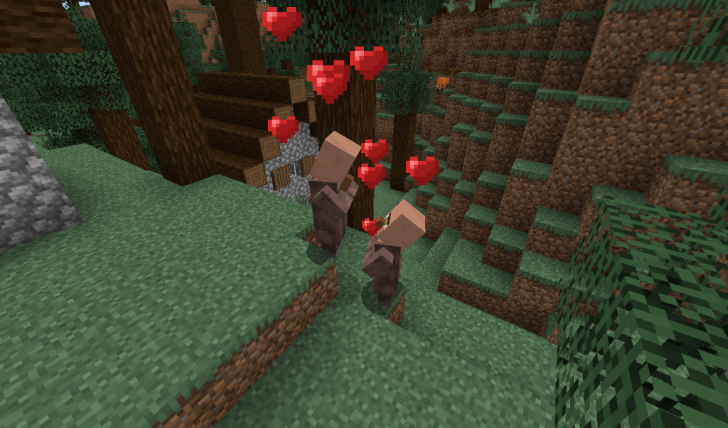 Breeding Villagers can be used for their resources.